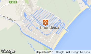 Carte Empuriabrava Appartement 82801