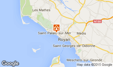 Carte Saint Palais sur Mer Appartement 87794