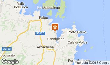 Carte Porto Cervo Appartement 75739