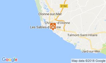 Carte Les  Sables d'Olonne Villa 115504
