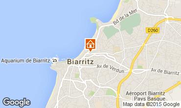 Carte Biarritz Studio 55206