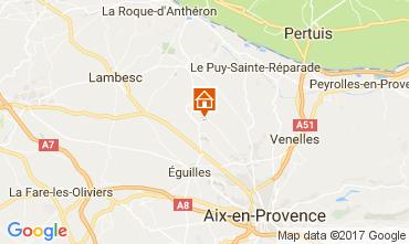 Carte Aix en Provence Villa 109342