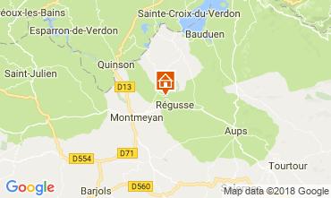 Carte Régusse Maison 114148