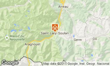Carte Saint Lary Soulan Chalet 102168