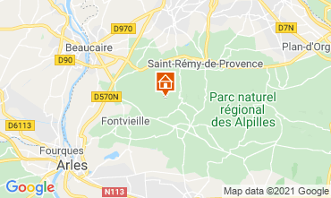 Carte Les Baux de Provence Maison 76062