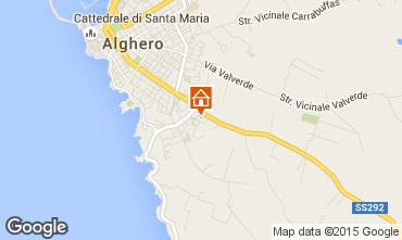 Carte Alghero Appartement 45136