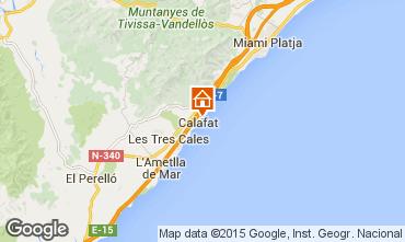 Carte La Ametlla de Mar Villa 80569