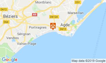 Carte Cap d'Agde Mobil-home 118020