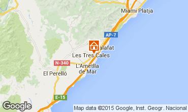 Carte La Ametlla de Mar Villa 60099