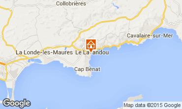 Carte Le Lavandou Appartement 94876
