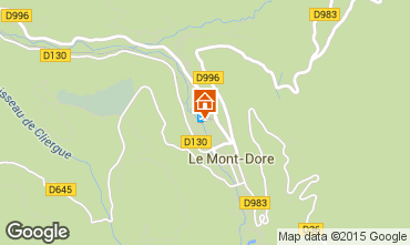 Carte Le Mont Dore Appartement 50842