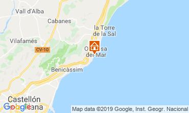 Carte Oropesa del Mar Appartement 118253