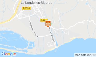 Carte La Londe les Maures Studio 119855