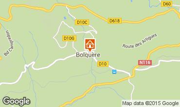Carte Bolquère Pyrenées 2000 Appartement 3982