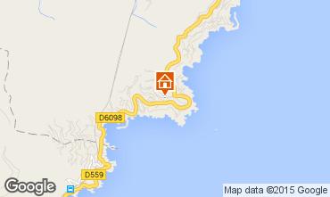 Carte Théoule sur Mer Villa 78968
