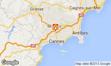 Carte Cannes Appartement 5498