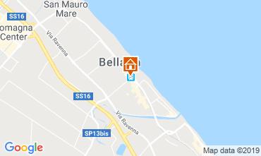 Carte Bellaria Igea Marina Appartement 118340