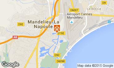 Carte Mandelieu la Napoule Studio 40533