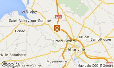 Carte Saint Val�ry sur Somme Gite 90776