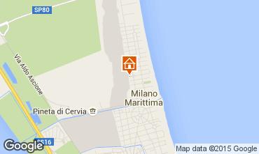 Carte Milano Marittima Appartement 85652