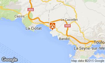 Carte Saint Cyr sur Mer Villa 93128