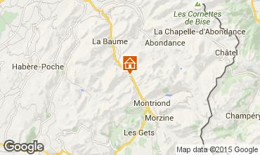Carte Morzine Chalet 39125