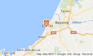 Carte Biarritz Studio 110978