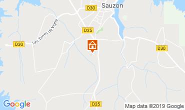 Carte Sauzon Maison 7307