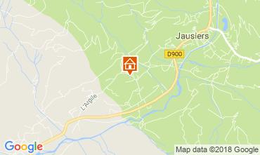 Carte Jausiers Chalet 113520