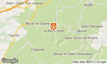 Carte Le Mont Dore Studio 3881