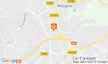 Carte Mougins Villa 113759