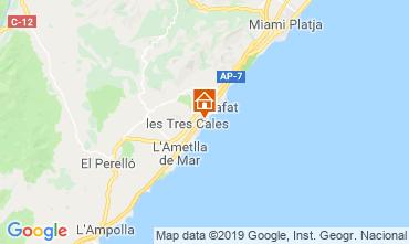 Carte La Ametlla de Mar Villa 118540