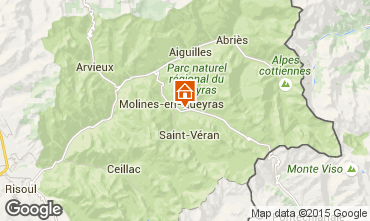 Carte Molines Saint-V�ran Appartement 28786