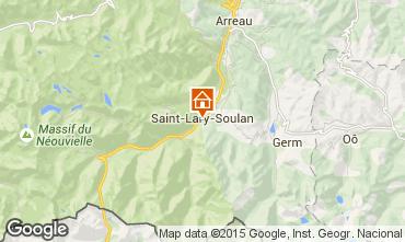 Carte Saint Lary Soulan Studio 4436