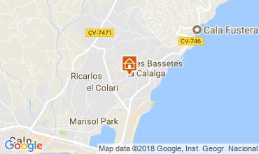 Carte Calpe Chalet 114759
