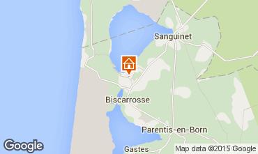 Carte Biscarrosse Chalet 22133