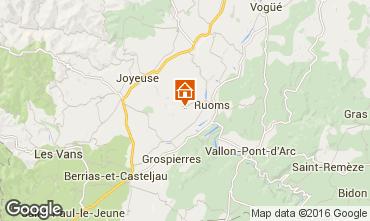 Carte Vallon-Pont-D'Arc Maison 102583