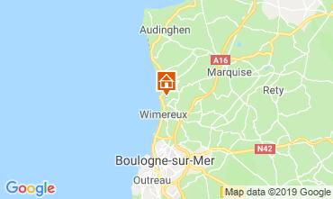 Carte Wimereux Maison 8913