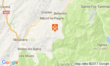 Carte La Plagne Appartement 112453