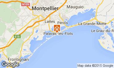 Carte Palavas-les-Flots Maison 69792