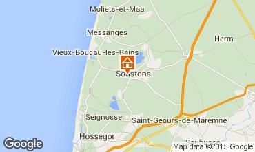 Carte Soustons Villa 77329