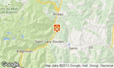 Carte Saint Lary Soulan Gite 61378