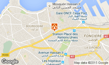 Carte Casablanca Appartement 69756
