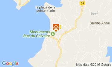 Carte Sainte Anne (Martinique) Appartement 67787