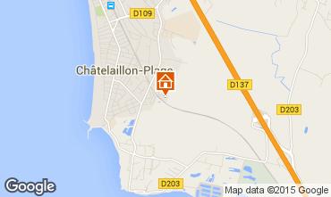 Carte Ch�telaillon plage Studio 70256