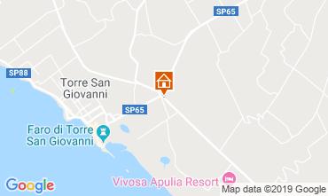 Carte Ugento - Torre San Giovanni Villa 118710