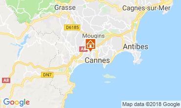 Carte Cannes Appartement 68306