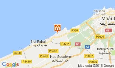 Carte Casablanca Appartement 106856