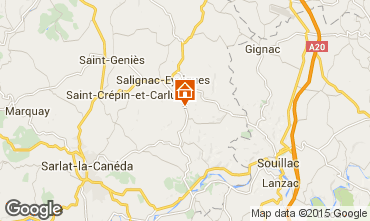 Carte Salignac-Eyvignes Maison 83784