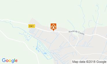 Carte Saint-Julien-en-Born Mobil-home 116423